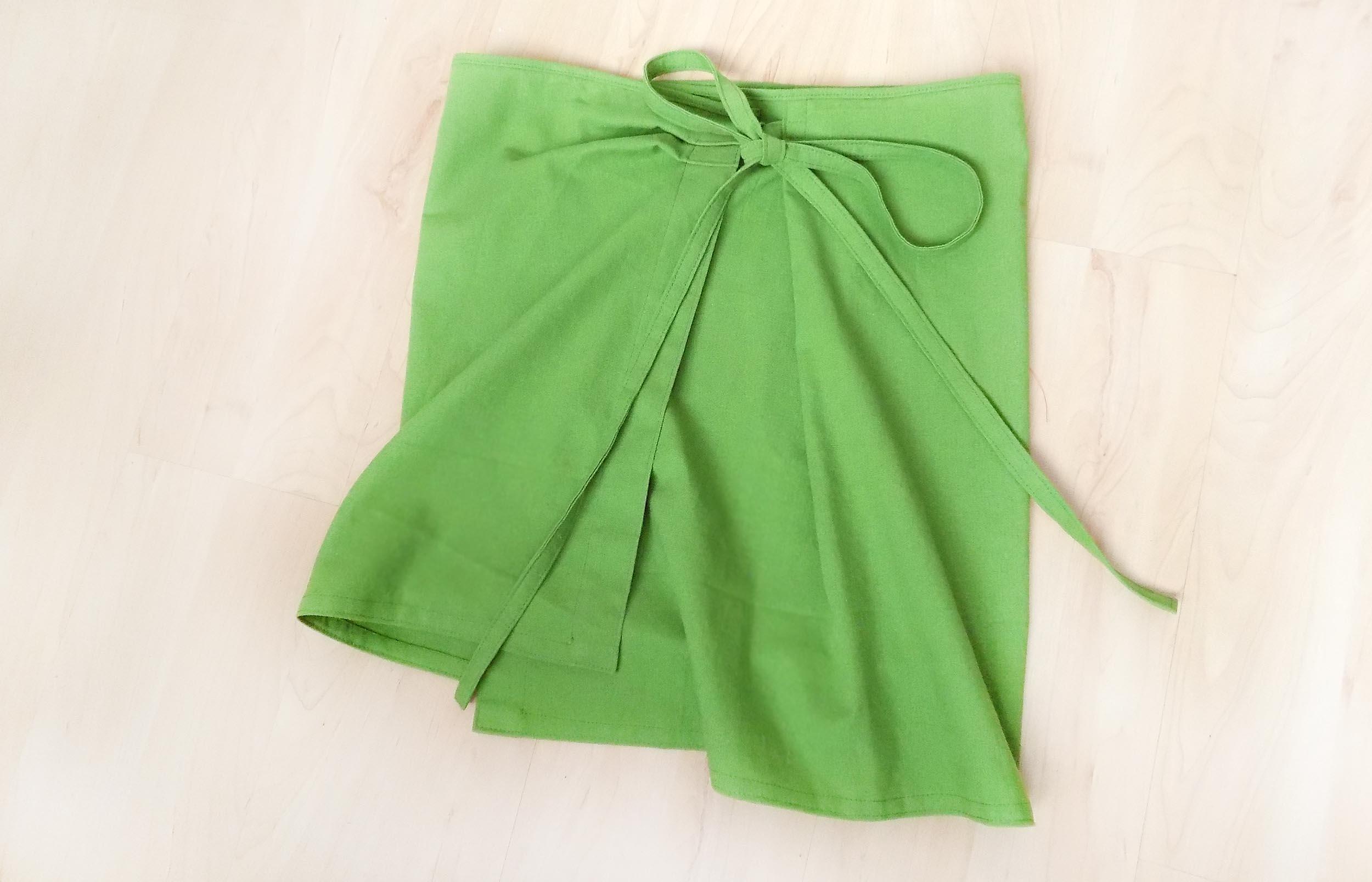 Как сшить юбку на запахе для начинающих 117