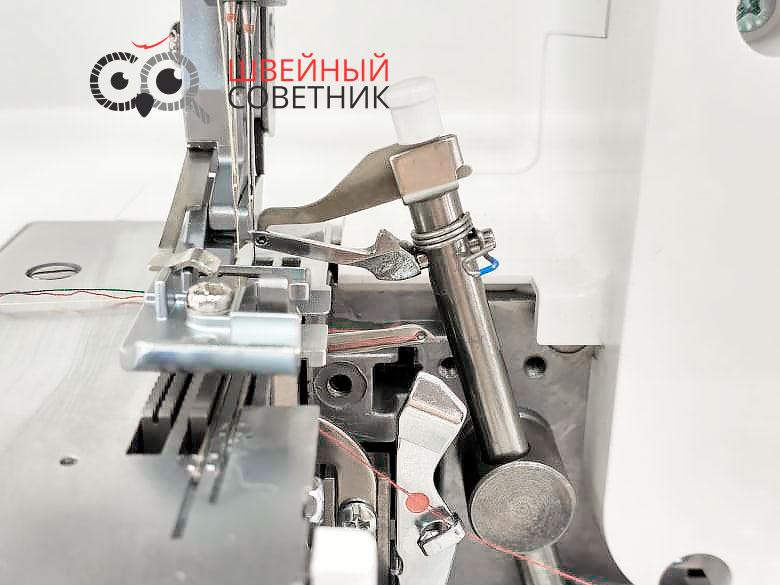 Двухниточный шов, конвертер петлителя Бернина 460