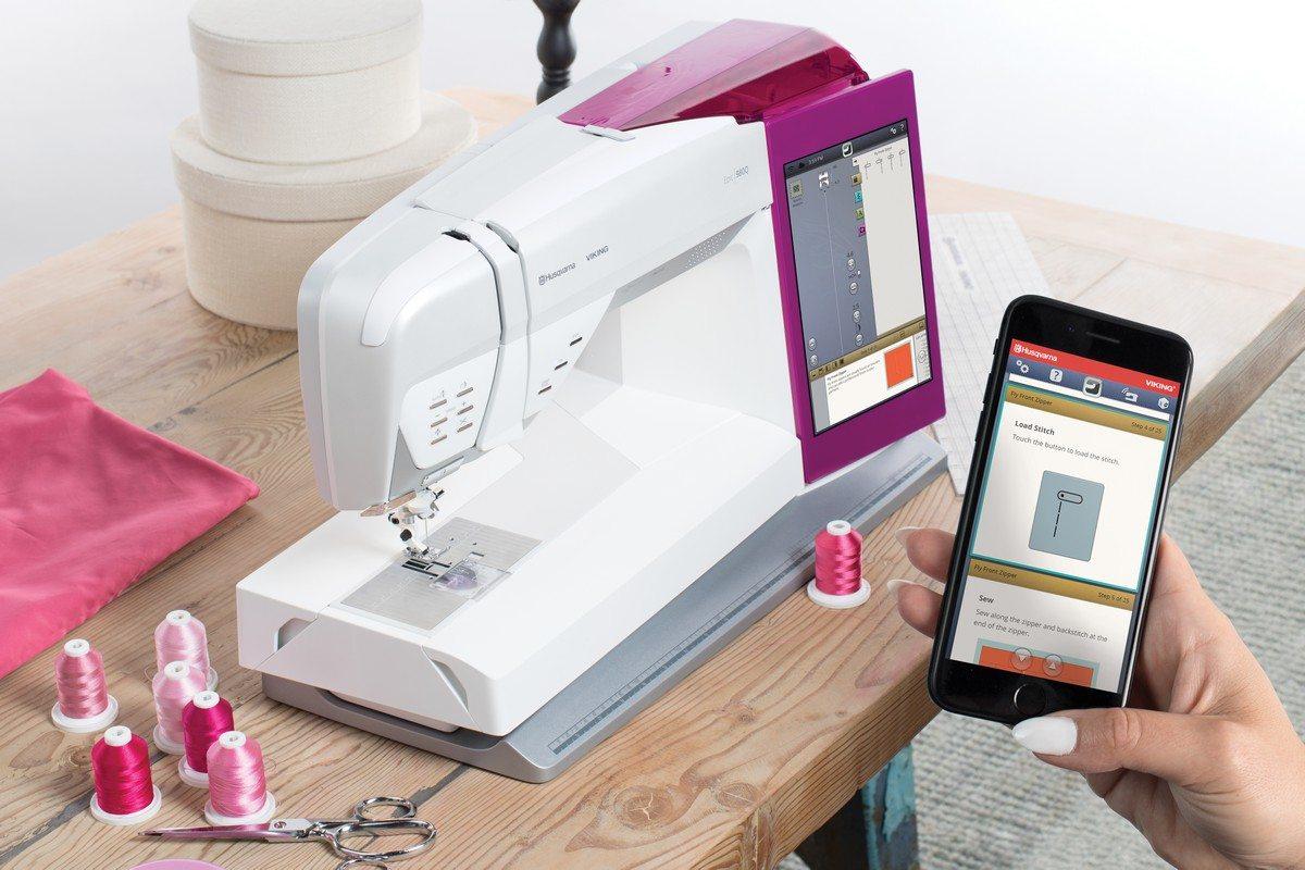 Тип управления швейной машины