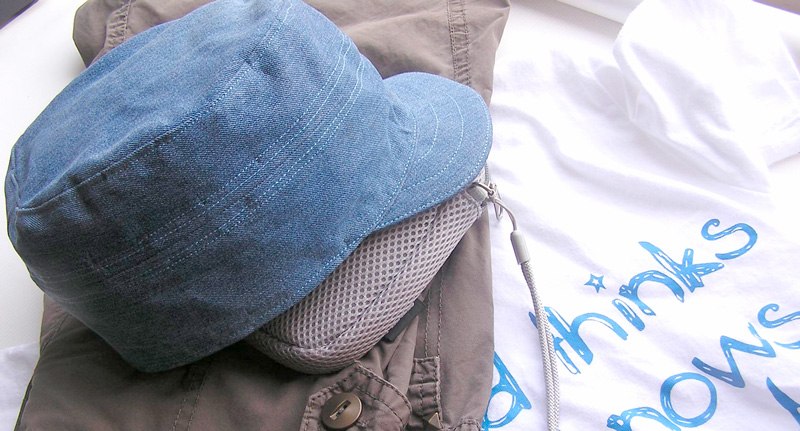 Бейсболка из джинсы своими руками