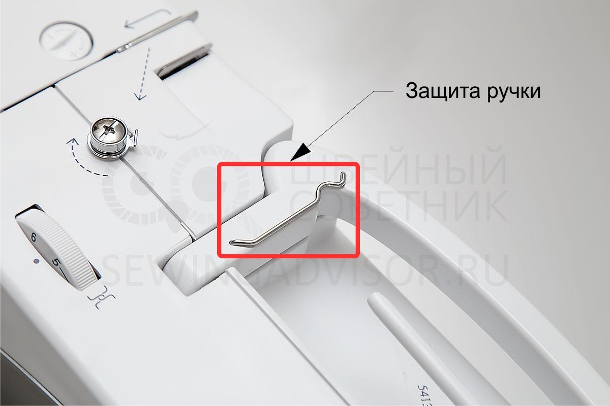 Защита ручки