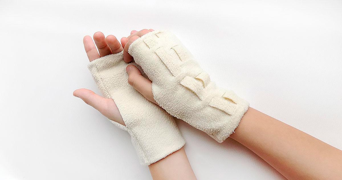 Мастер-класс пошив перчаток с переплетенным декором