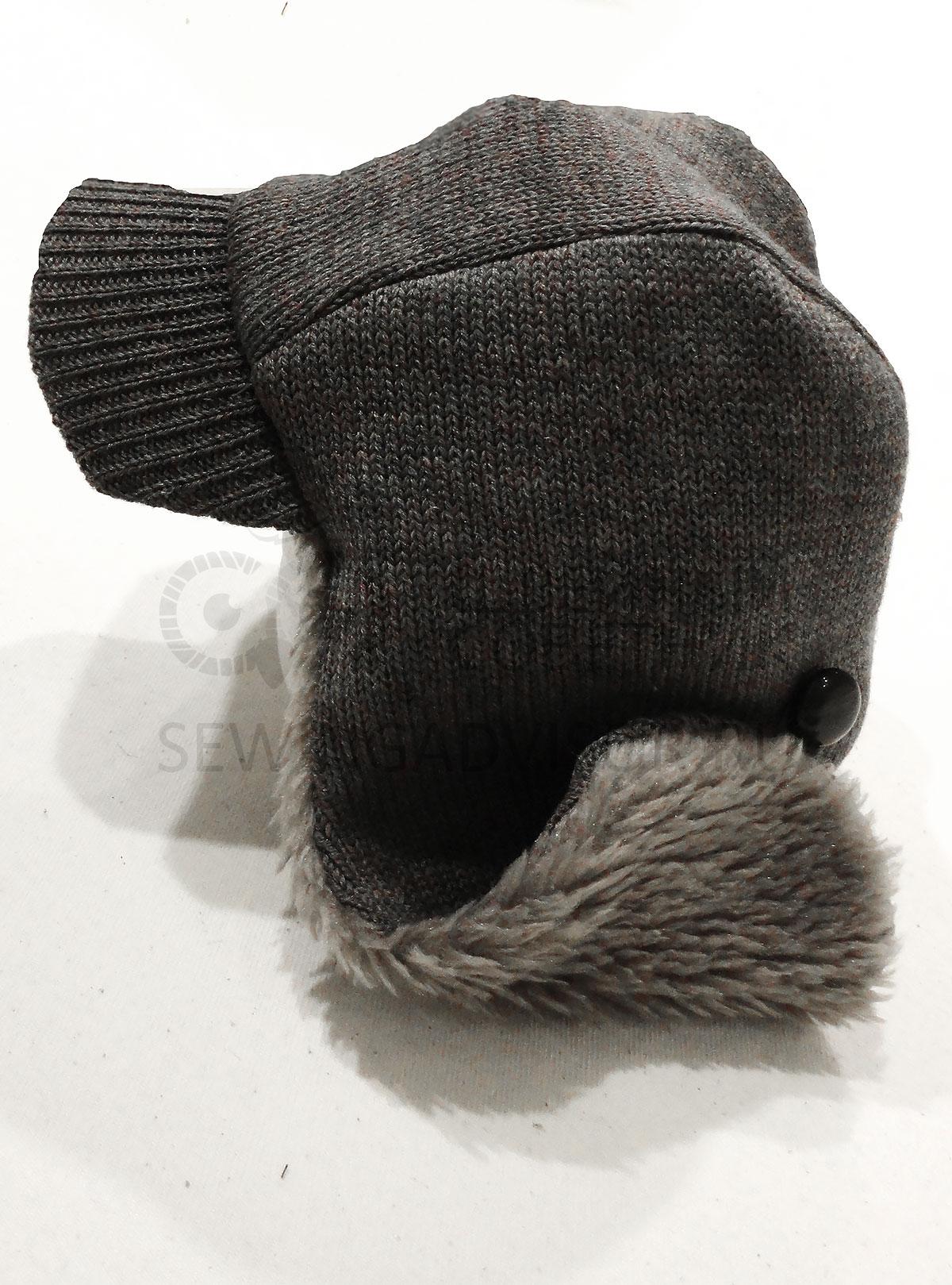 Зимняя шапка - ушанка