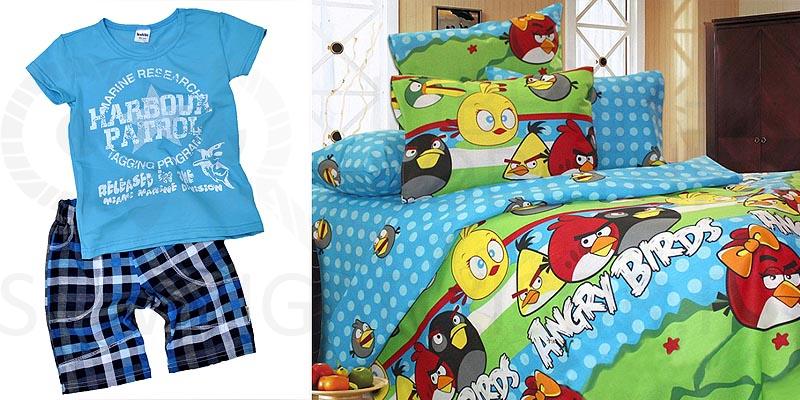 Хлопок для детской одежды и постельного белья