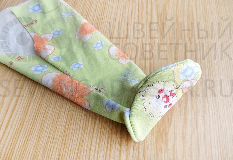 Ползунки для новорожденных своими руками
