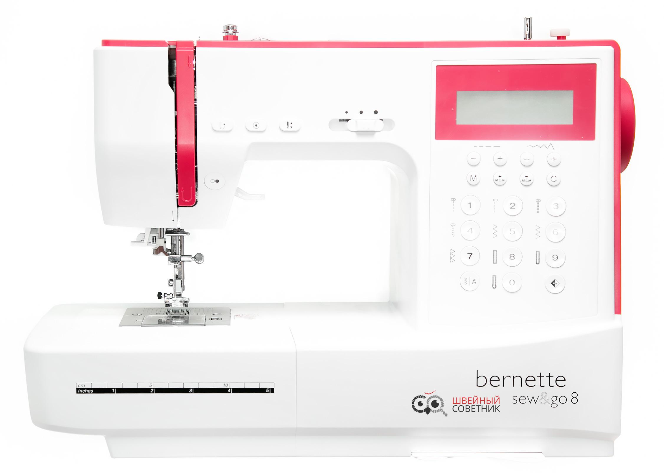Видео обзор Bernina Bernette sew&go 8, где купить, технические характеристики, отзывы, скачать инструкцию